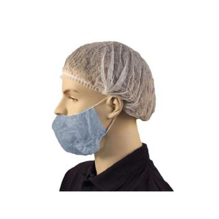 "PRO CHOICE BEARD COVER 18"" BLUE - DOUBLE LOOP - 1000 - CTN"