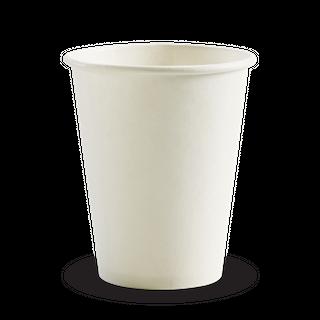BIOPAK Single Wall CUP - 8oz (80mm) - White - 1000 - CTN ( BC-8W )
