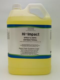 HI - IMPACT Spray & Wipe Antibacterial - 5L