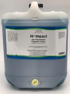 HI - IMPACT Air Freshener - Powder Fresh (Water Base) - 20L CHECK BRAND