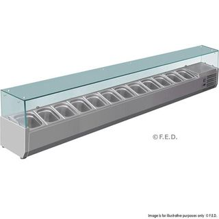 PIZZA / SANDWICH BAR PREPARTION TOP UNIT VRX2500 / 380 - EACH