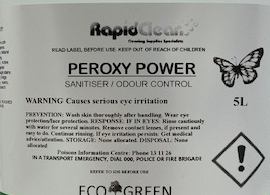 PEROXY POWER MULTIPURPOSE CLEANER & SANITISER MOULD REMOVER - 20L