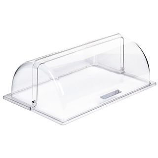 APS FRAMES 1/1 GN CLEAR PLASTIC ROLL TOP COVER - GC910 - EACH