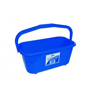 EDCO ALL PURPOSE MOP & SQUEEGEE BUCKET 11L BLUE - 28020 - EACH