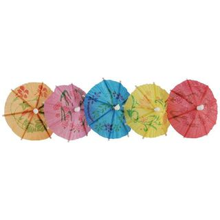 WOBBLY BOOT COCKTAIL PARASOLS - 100 - PKT