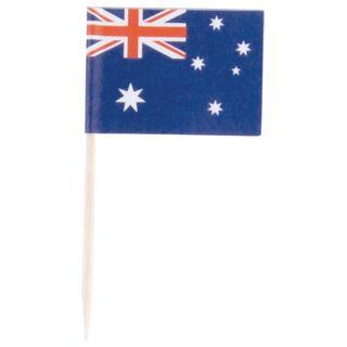 AUSTRALIAN FLAG PICK / STEAK MARKER - 500 PACK