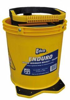 EDCO ENDURO NYLON WRINGER BUCKET - YELLOW - EACH
