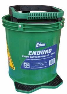 EDCO ENDURO NYLON WRINGER BUCKET - GREEN - EACH