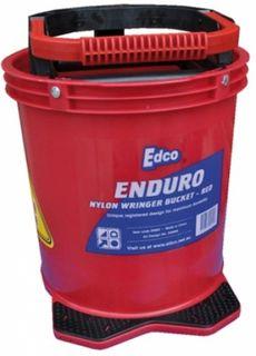 EDCO ENDURO NYLON WRINGER BUCKET - RED - EACH