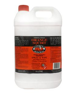 "Citrus Resources "" ORANGE SQUIRT "" Multipurpose Spray & Wipe - 5L"