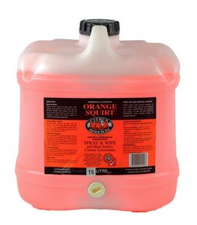 "Citrus Resources "" ORANGE SQUIRT "" Multipurpose Spray & Wipe  -15L"
