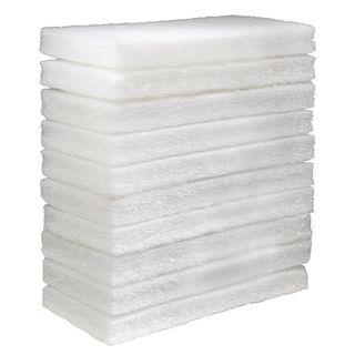 OATES EAGER BEAVER - GLIT PAD - WHITE - LARGE - 10 PACK