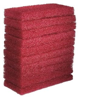 OATES EAGER BEAVER - GLIT PAD - RED - LARGE - 10 PACK