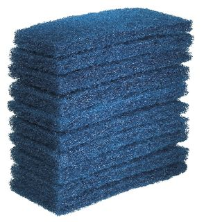 OATES EAGER BEAVER - GLIT PAD - BLUE - LARGE - 10 PACK