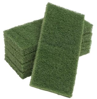 OATES EAGER BEAVER - GLIT PAD - GREEN - LARGE - 10 PACK