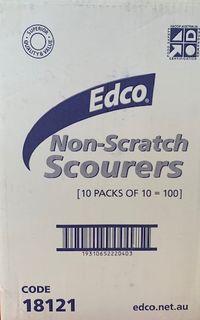 EDCO WHITE NON SCRATCH SCOURER 230x150 - 18121 -100-MASTER BOX