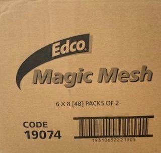 EDCO MAGIC MESH SCOURER - TWIN PACKS  X 6 PACKS OF 8 - 48 - CTN