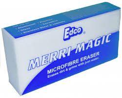 EDCO MERRI MAGIC ERASER - CARTON (6 X 12 PACKS)- 72-BOX