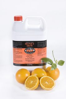"Citrus Resources "" HONEYDEW ""Orange Honey Vanilla Hand Cleaner - 5L"