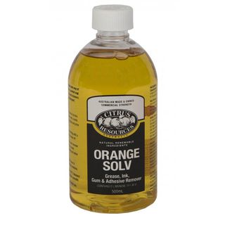 "Citrus Resources "" ORANGE SOLV "" Water Soluble Solvent Cleaner - 500ml -CTN"