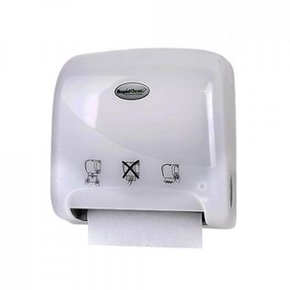ROYAL TOUCH - 33411 - MIDI JAWS AUTOCUT HAND TOWEL DISPENSER - PEARL (200mm Roll)- EACH