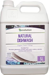 REVOLUTION  NATURAL DISH WASH LIQUID -5L
