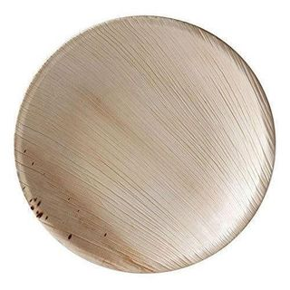 PALM LEAF ECO PLATE ROUND 300MM - 25 - SLV