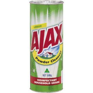 AJAX POWDER CLEANER - 500G DISINFECT HOUSE/GRADE - EACH
