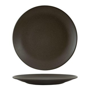 ZUMA CHARCOAL ROUND COUPE PLATE 285MM - 90967 - 12 - CTN