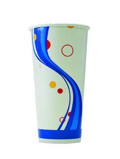 TP ALFRESCO PAPER COLD - MILK SHAKE CUP 22OZ - 25