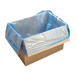 TP CARTON LINERS BLUE HDPE, 640 X 640 X 390 - 100 - PKT