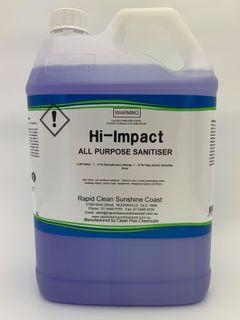 HI - IMPACT All Purpose Cleaner Sanitiser - 5L