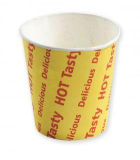 CAPRI  HOT CHIP CUP 8OZ -PRINTED  - 50