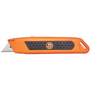STERLING AUTO -RETRACTING ORANGE SAFETY KNIFE (114-2R) - 12 - CTN