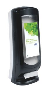 TORK N4 XPRESSNAP STAND NAPKIN DISPENSER BLACK - 63320 - EACH