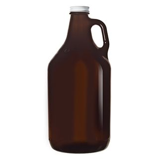 LIBBEY AMBER GROWLER / WATER PITCHER WITH LID - 1890ML - 6 - CTN