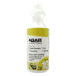 PRINTED AGAR CARPET CLEANING BOTTLE 500ML (D10) - EACH