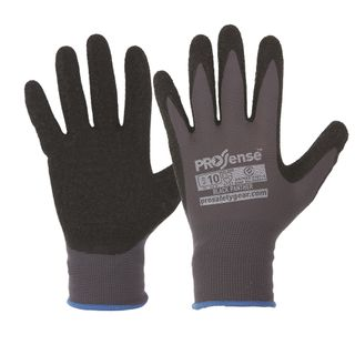 PRO CHOICE PROSENSE BLACK PANTHER LATEX PALM / NYLON LINER - SIZE: 9 - PAIR
