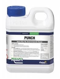 """Research """" PUNCH """"  Heavy Duty Hard Floor Stain Remover & Restorer - 1L"""