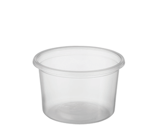CASTAWAY REVEAL 100ML CLEAR ROUND CONTAINER ( CA-FC100 ) - 1000 - CTN