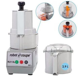 ROBOT COUPE R211XL FOOD PROCESSOR WITH VEG PREP ATTACHMENT - EACH ( SPECIAL ORDER FREIGHT APPLIES )