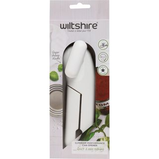 WILTSHIRE SUPERIOR PERFORMANCE CAN OPENER - WHITE - EACH