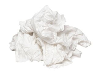 BAG OF RAGS - 10KG - WHITE T-SHIRTS - EACH