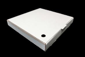 """13"""" WHITE PIZZA BOXES - 100 - PKT"""