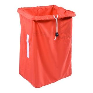 POLYESTER LAUNDRY BAG ( 75H x 35x45 Base ) RED - X81J-R - EACH