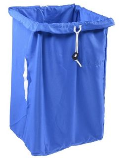 POLYESTER LAUNDRY BAG ( 75H x 35x45 Base )  BLUE - X81J-B - EACH