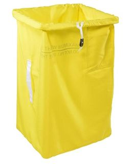 POLYESTER LAUNDRY BAG ( 75H x 35x45 Base ) YELLOW - X81J-Y - EACH