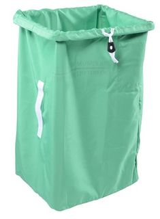 POLYESTER LAUNDRY BAG ( 75H x 35x45 Base ) GREEN - X81J-GN - EACH