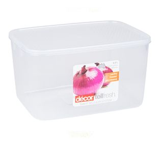 DECOR 6L TELLFRESH OBLONG CONTAINER - EACH
