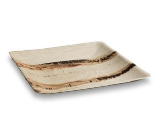 GREENMARK PALM LEAF PLATE SQUARE 250 X 250MM ( PPS10 ) - 100